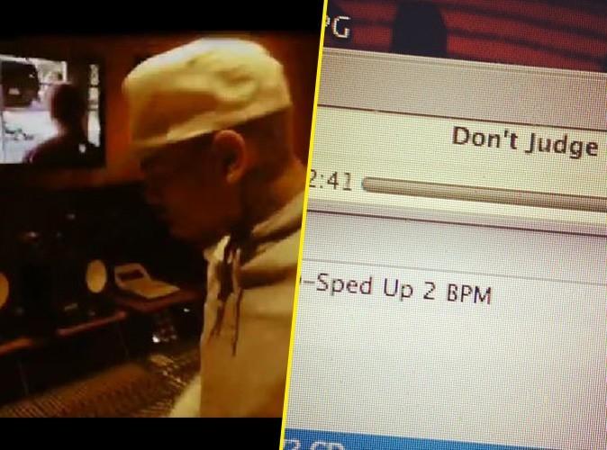 Chris Brown : de retour en studio, découvrez son nouveau son !