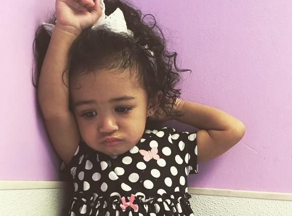 Chris Brown : exit North, sa fille Royalty sait bouger en rythme elle aussi !