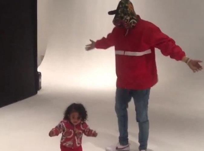 Chris Brown : sa fille Royalty a déjà le rythme dans la peau !