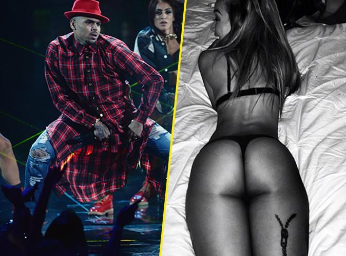 Chris Brown : trop fier de sa girlfriend aux courbes généreuses !