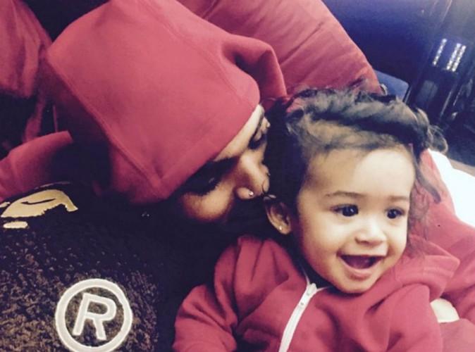 Chris Brown violent ? Il répond avec une belle déclaration d'amour à sa fille !