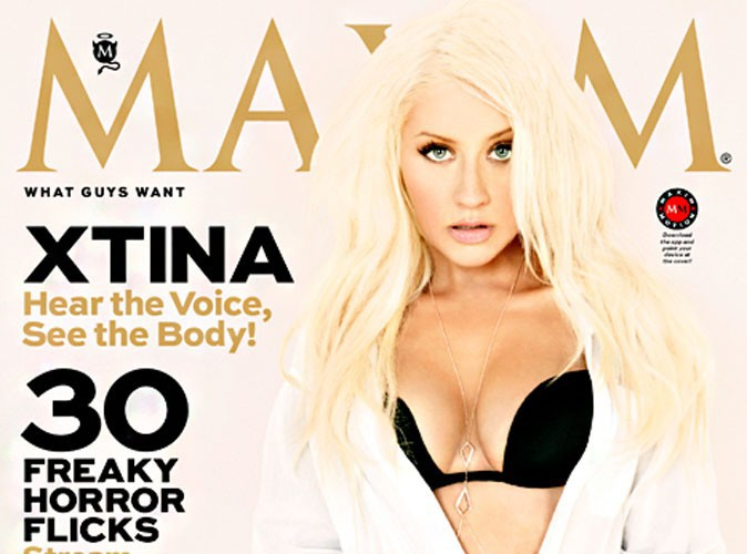 Christina Aguilera : sexy en diable, elle se mue en cover-girl hot pour le magazine Maxim !