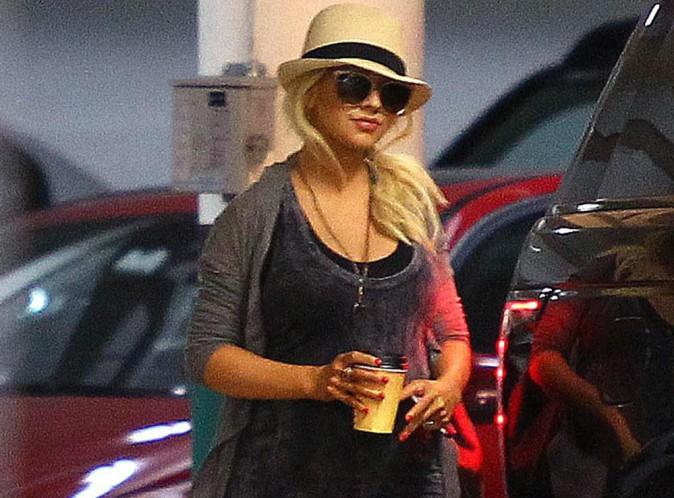 Christina Aguilera : une grossesse placée sous le signe de l'équilibre alimentaire !