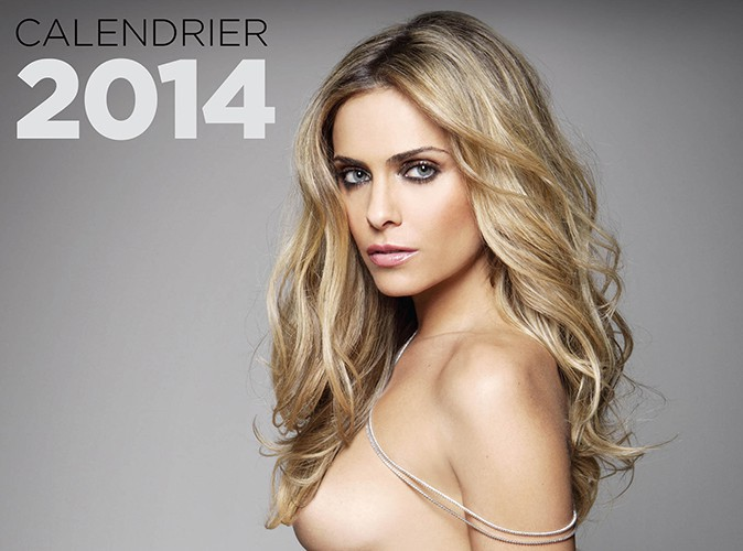Clara Morgane : elle dévoile la couverture sexy de son calendrier 2014 !
