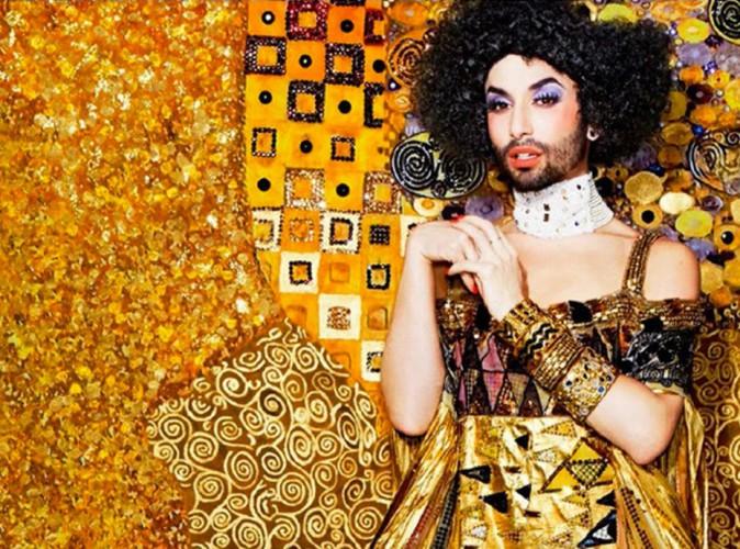Conchita Wurst devient une œuvre d'art pour la bonne cause !