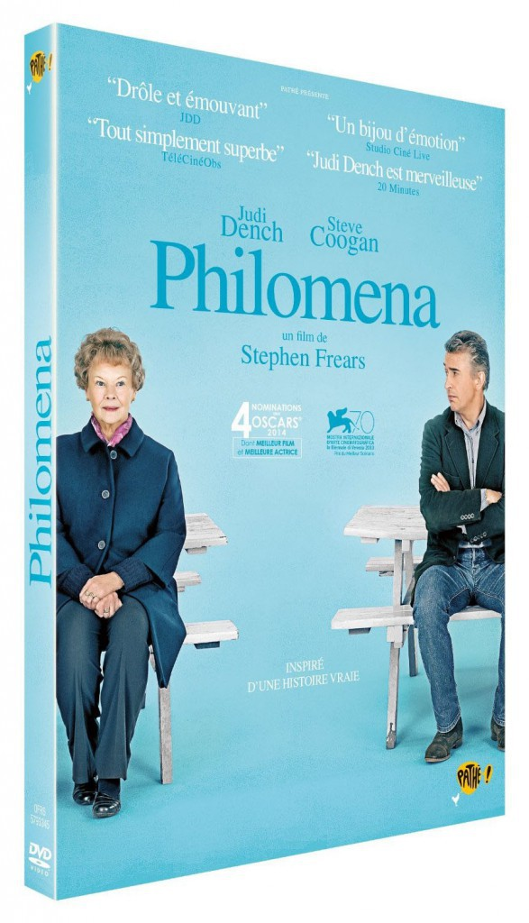 Philomena de Stephen Frears, Fox. 19,99 €.