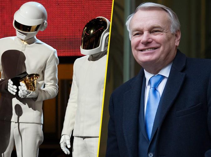 Daft Punk : leur razzia au Grammy Awards saluée par Jean-Marc Ayrault !