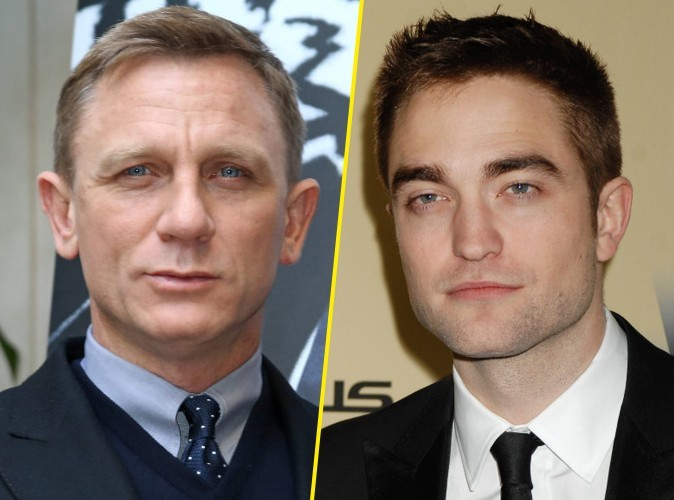 """Daniel Craig : """"Je pense que Robert Pattinson devrait me succéder en tant que James Bond..."""""""