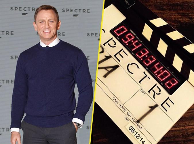 Daniel Craig : le tournage de James Bond a commencé !