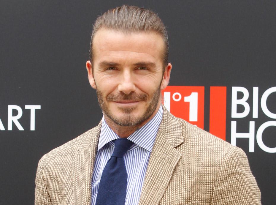 David Beckham : Attaqué après avoir embrassé sa fille sur la bouche, il réplique