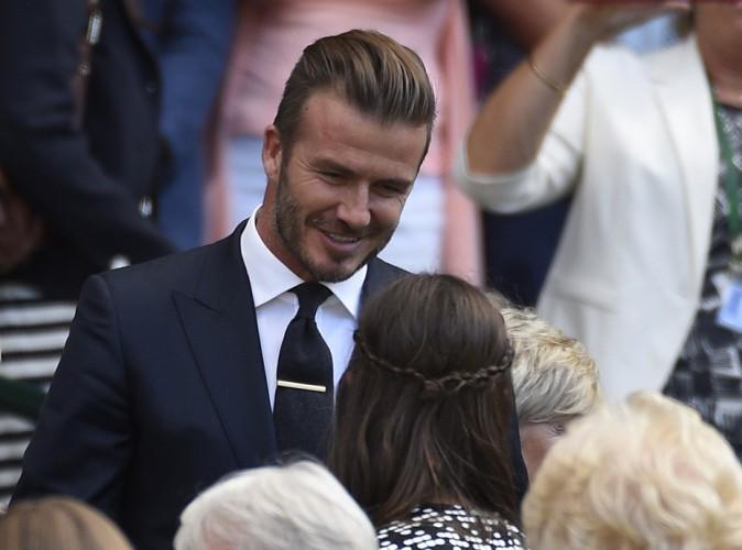 David Beckham : En tribunes, il reçoit une ovation à Wimbledon !