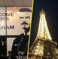 David Beckham : en virée nocturne parisienne, il pose devant la boutique du PSG !