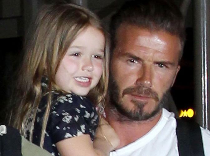 David Beckham : il laisse sa fille de trois ans le tatouer !