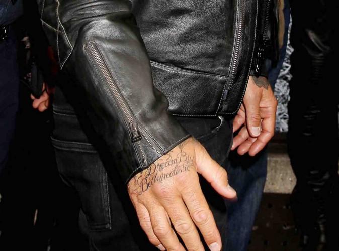 David Beckham : il s'inspire de Jay Z pour son nouveau tatouage !