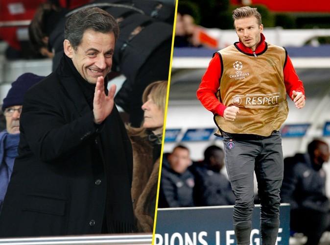 David Beckham : invité à dîner chez les Sarkozy !