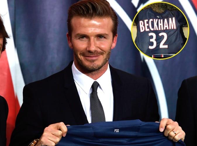 David Beckham : sa fille Harper a elle aussi son maillot du PSG !