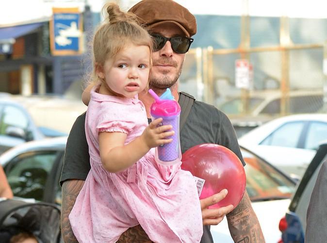 David Beckham : selon lui, Harper est en train de devenir une vraie fashionista !
