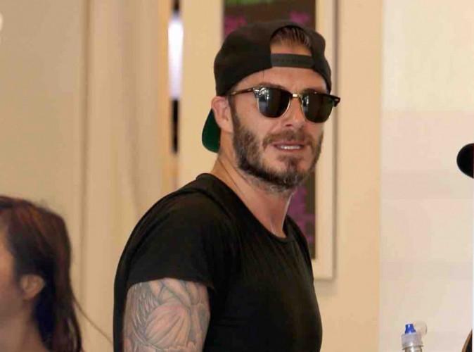 David Beckham : trop fier de sa petite Harper !