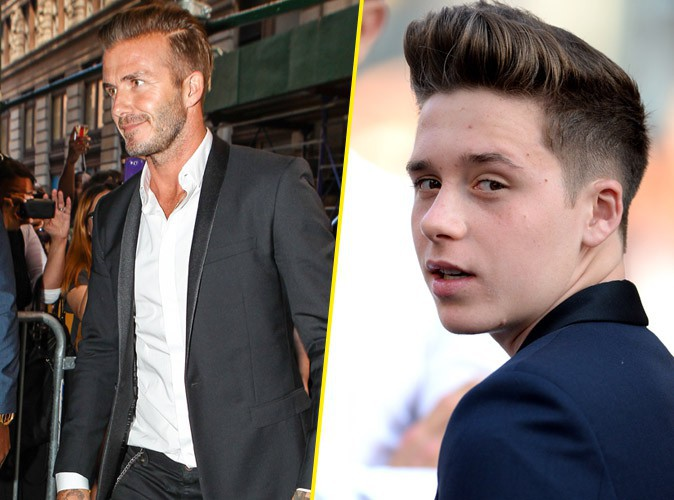 David Beckham : victime d'un accident de voiture avec son fils Brooklyn...