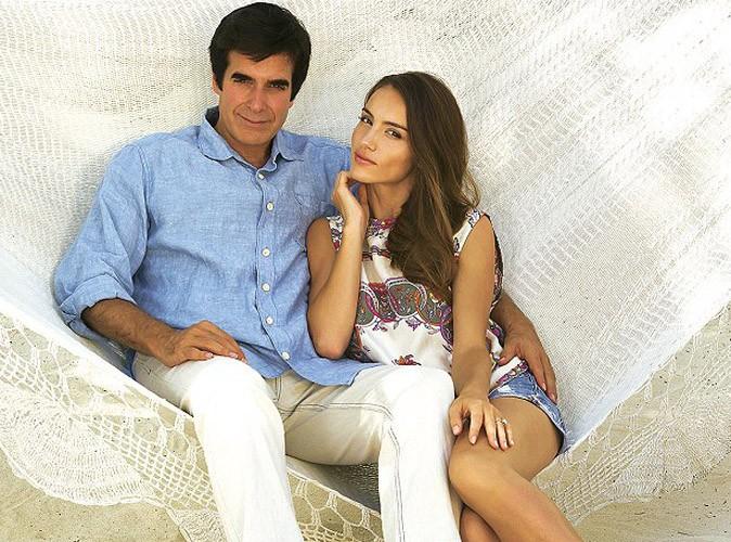 David Copperfield : l'ex de Claudia Schiffer fiancé à la top française Chloé Gosselin !