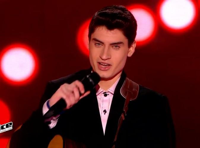 David Thibault : le finaliste de The Voice va sortir un album !