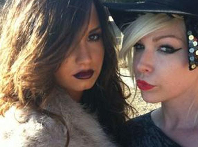 Demi Lovato : superbe en mode gothique chic... pour son album ?