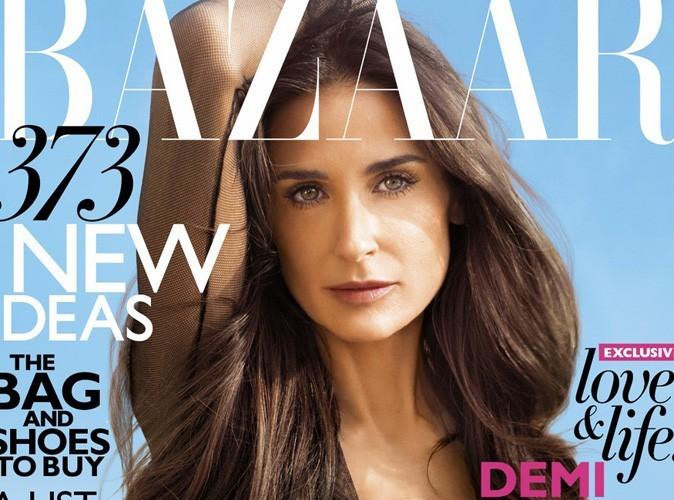 """Demi Moore : """"J'ai peur de ne pas valoir la peine d'être aimée"""""""