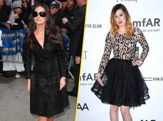 Demi Moore : sa fille Rumer ne lui parle plus et file un mauvais coton…