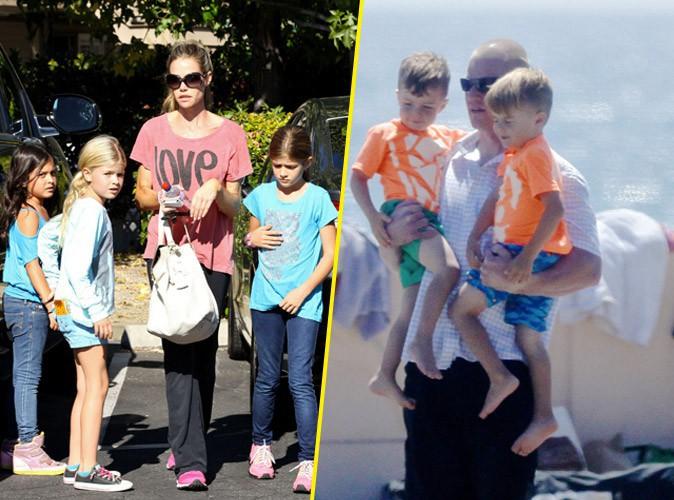 Denise Richards : elle ne veut plus garder les fils maléfiques de Charlie Sheen, ils ont torturé ses filles !