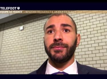 Didier Deschamps répond à Karim Benzema !