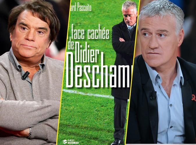 """Didier Deschamps taclé par Bernard Tapie : """"C'est tout pour sa gueule !"""" Le livre explosif !"""