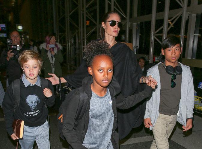 Divorce des Brangelina : Angelina Jolie et ses enfants sont suivis par un psy