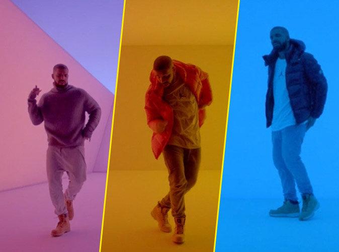 """Vidéo : Drake ose le pas de danse enflammé sur le clip de son tube """"Hotline Bling"""""""