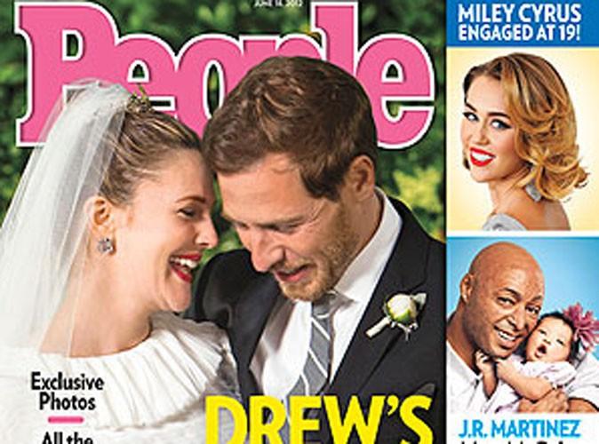 Drew Barrymore et Will Kopelman : découvrez leur belle photo de mariage...