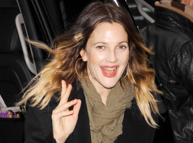 Drew Barrymore : première apparition officielle et glam' depuis la naissance de sa fille Olive...