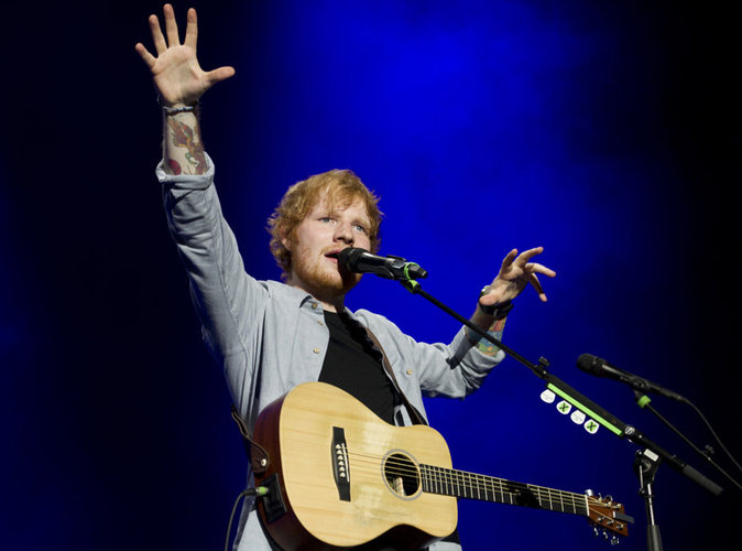 Ed Sheeran : Ses concerts lui rapportent 88 000 euros !