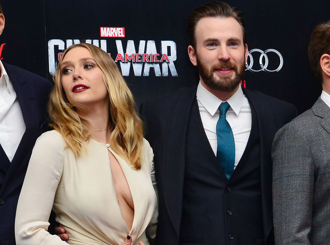 """Elizabeth Olsen et Chris Evans en couple ? """"Ils sont fiancés"""" disent-ils !"""