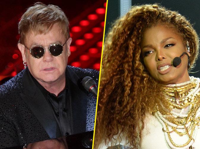 """Elton John : """"Je préfère regarder une drag-queen que Janet Jackson""""  !"""