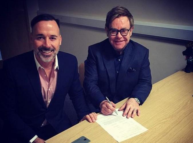 Elton John : officiellement marié à David Furnish !