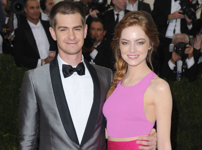 Emma Stone with funny, sympathetic, Boyfriend