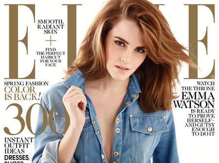 """Emma Watson : cover-girl envoûtante et """"jalouse"""" de Jennifer Lawrence pour ELLE !"""