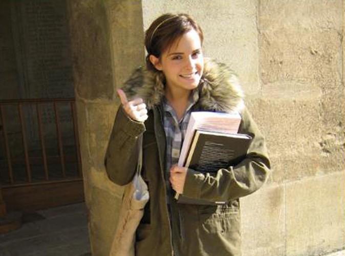 Emma Watson : elle a repris les cours... la preuve en photo !