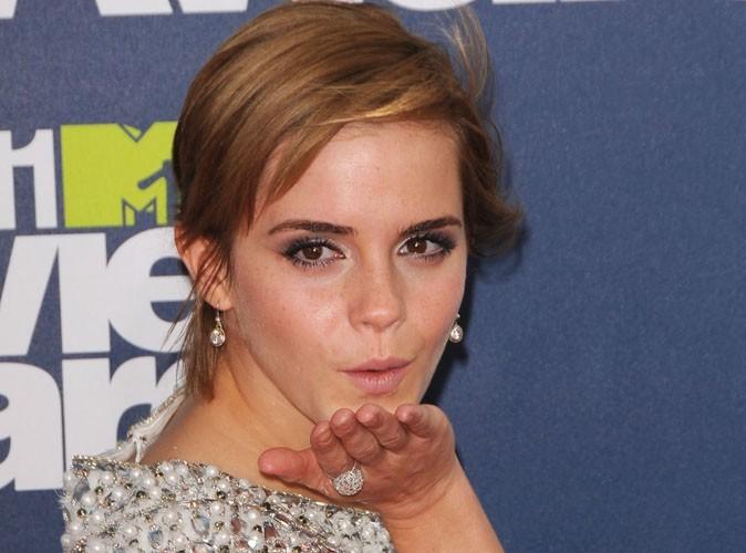 Emma Watson : elle intimide les hommes... et c'est elle qui le dit !