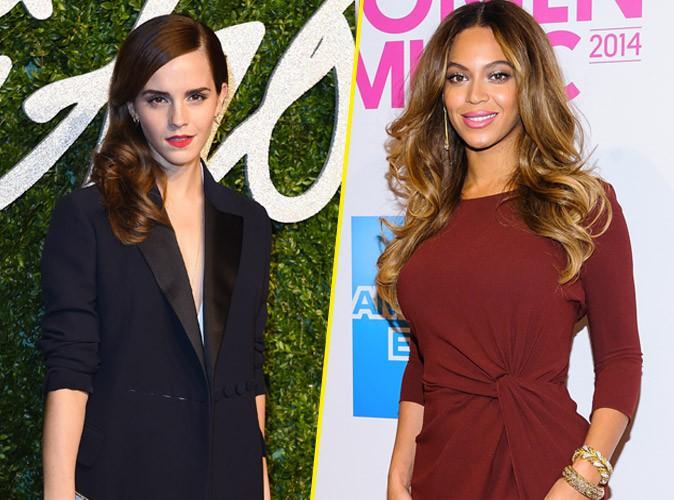 Emma Watson : élue féministe de l'année, elle enterre Beyoncé !