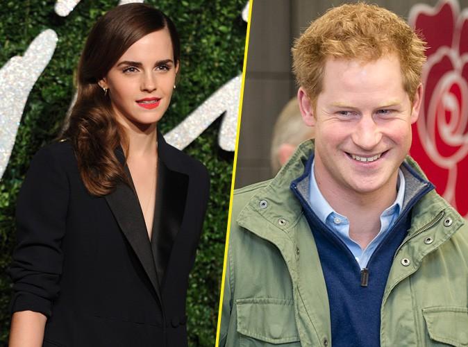 Emma Watson en couple avec le Prince Harry, on en rêvait mais...
