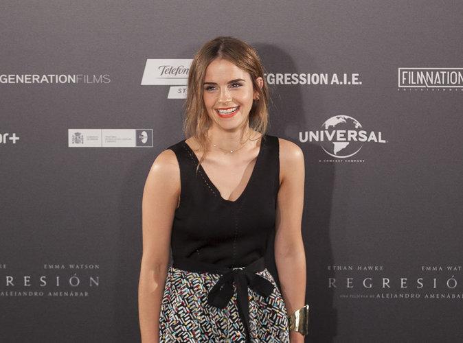 """Emma Watson : enfant star à 10 ans dans Harry Potter, elle a connu une pression """"terrifiante"""""""