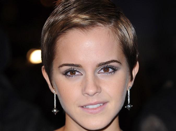 Emma Watson, une égérie beauté qui a elle aussi le droit à l'acné...