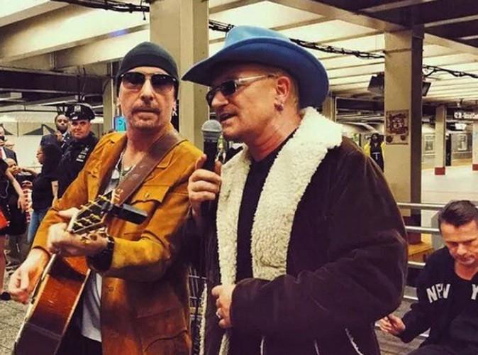 En concert surprise avec U2, Bono va mieux !