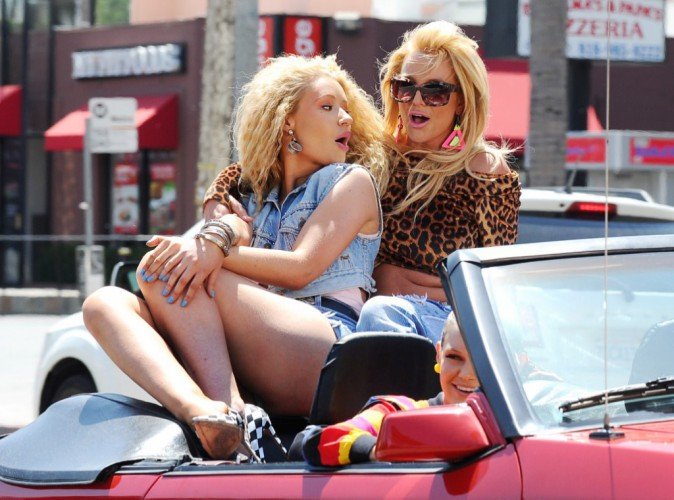 Entre Iggy Azalea et Britney Spears tout va bien !