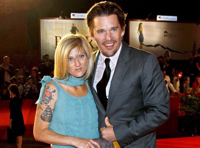 Ethan Hawke, l'ex-mari d'Uma Thurman, bientôt papa pour la ...